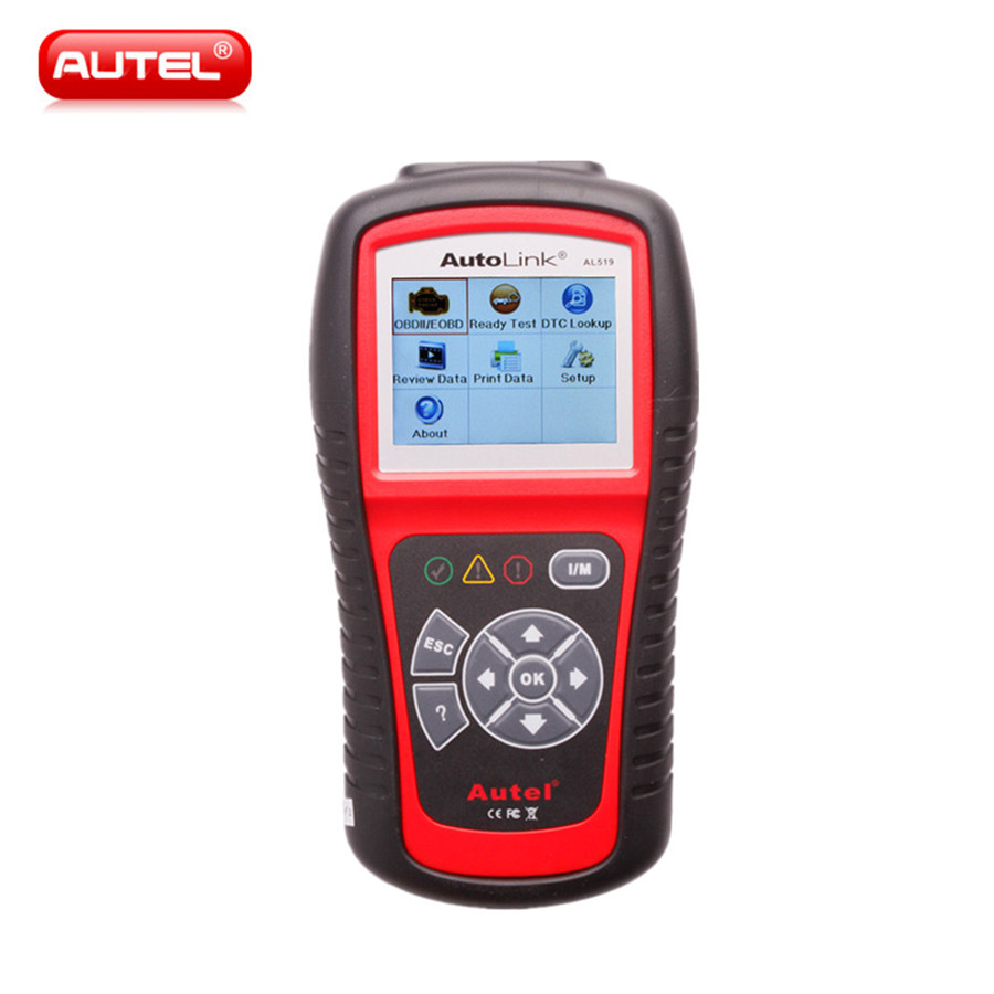 Autel AutoLink AL519 OBD-II and CAN Scanner Tool AL519 Scanner AL519 Scan Tool Support Multi-Language бандана wdx wdx coolwind empedrat детская