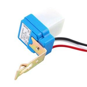 Image 2 - Mayitr interruptor de luz de rua automático, ac 12v 24v 220v, interruptor de luz de rua automático à noite, fora do dia, sensor fotocontrole interruptor do sensor