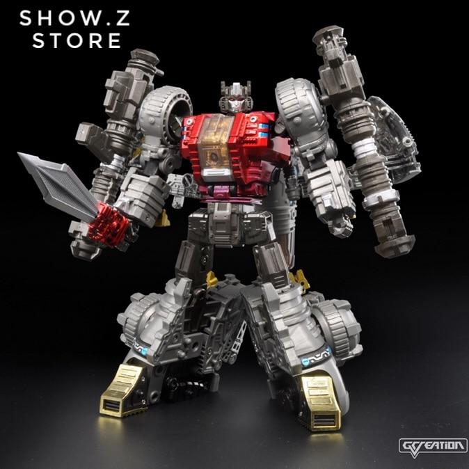 [Show.Z Store] G-Creation Shuraking SRK-01 SRK01 Thunderous Sludge Transformation Action Figure