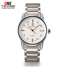 TEVISE Authentic Men's Watch  Automatic mechanical male Business Leisure waterproof Wrist watches