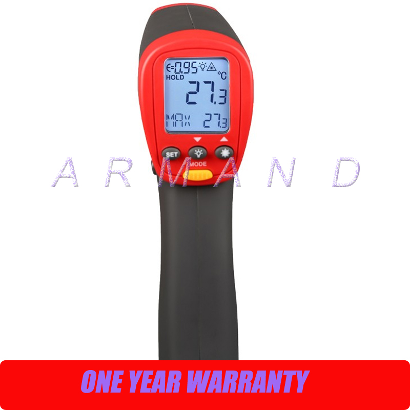 Digital Infrared Thermometer, 32 +450 Centigrade, 20:1 UT302A