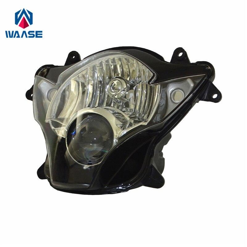 waase GSX R 600 750 Front Headlight Headlamp Head Light Lamp Assembly For Suzuki GSXR600 GSXR750