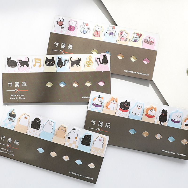 1 PCS New Cute Lucky Cat Memo Pad Sticky Notes Memo Notebook Stationery Note Paper Stickers School Supplies infinite destiny in america photobook 50p memo note 100p 3 photo stickers release date 2013 10 18 korea kpop album