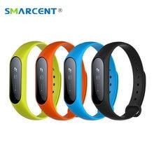 SMARCENT Y2 Plus Banda Inteligente Sleep Monitor de Ritmo Cardíaco del Pulso Inteligente pulsera IP67 A Prueba de agua Rastreador de Ejercicios pk QS80 M2 mi banda 2