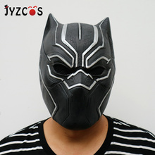 JYZCOS Black Panther Masks Helmet Marvel Superhero Avengers:Endgame Cosplay Costume Halloween Adult Kids Masquerade Party Props