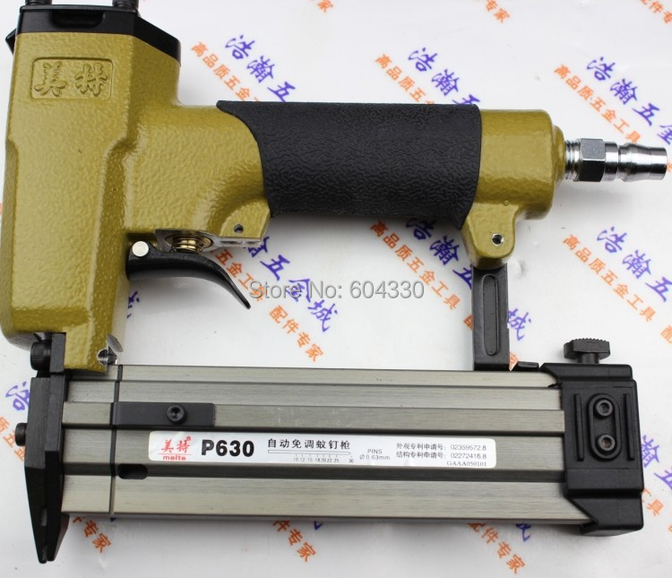 High Quality P630 Pneumatic Nail Gun Air Stapler Gun Pneumatic Brad Nailer Gun Air gun