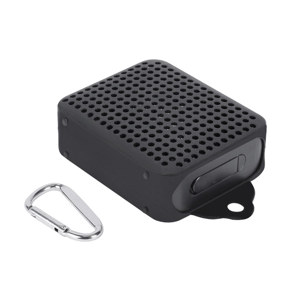 Silicone Cover Case for <font><b>JBL</b></font> GO 2 <font><b>Bluetooth</b></font> <font><b>Speaker</b></font> Skin Protector Sleeve with Carabiner not Affect the Sound Quality