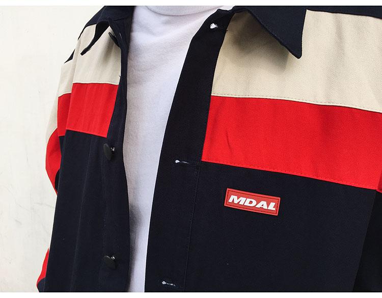 Color Block Coaches Jackets 3
