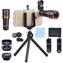 Promo offer Apexel camera Lens in mobile for iPhone6 6S plus Samsung S7 S6 edge Smartphones Clip Telescope Camera Lens with Tripod APL-HS12X