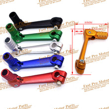 Folding Aluminum Gear Shift Lever Gear Shift Lever Fit  For ATV Dirt B