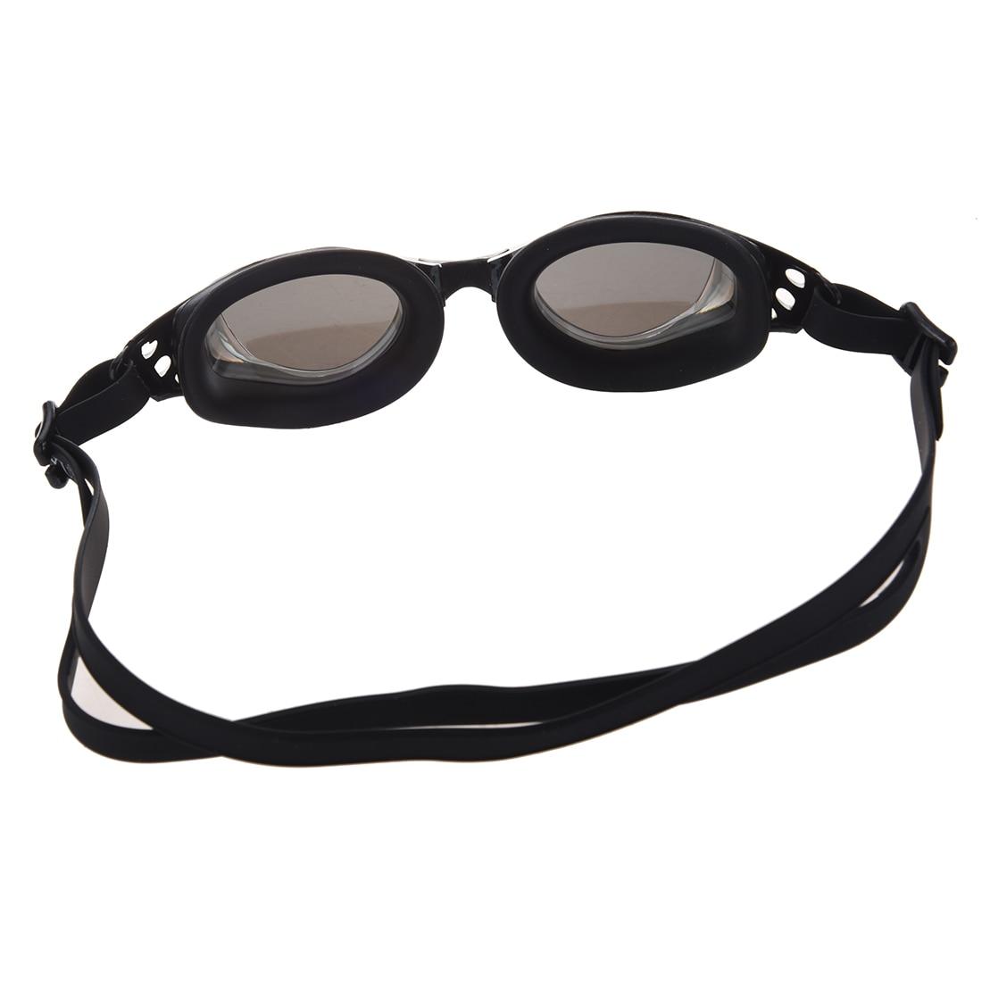 Black Swim Swimming Water Silicone Pool Adult Goggles