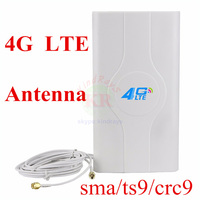 4G LTE Antenna Double TS9 Booster Sma Crc9 For 3g 4g Modem Pocket Wifi 3g 4g