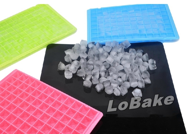 96 cavities jewelry shaped diamond shape silicone ice cube tray for custom ice cube box maker Baking Tools