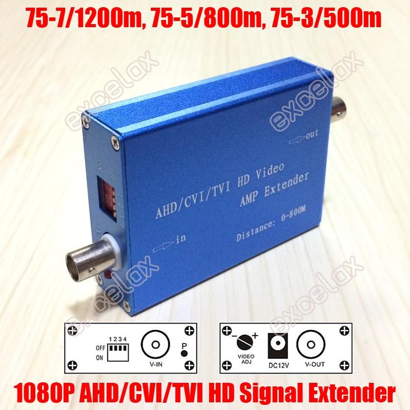 bilder für 1200 mt 1080 P 720 P Full HD AHD CVI TVI Coax Signal Extender verstärker 75-3 500 mt 75-5 800 mt 75-7 1200 mt HDCVI HDTVI Koaxialkabel