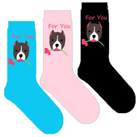 Женщины pitbull Носки подарок с щенком боксе бульдог kawaii Новинка унисекс творческий подарок с щенка 20/50/100 пар
