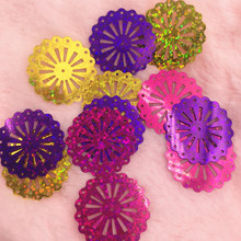 New item  200pcs 29mm Mixed Color Carriage Whee shape Sequins Accessories For handmade and Diy Sewing wedding