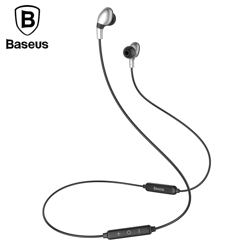 Baseus Bluetooth Magnetic In-ear Earphone With Microphone Wireless Bluetooth Earphones Bass Headset For iPhone Xiaomi Phone MP3