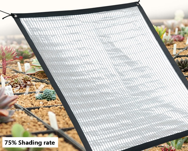 reflective aluminum foil sunshade screen heat insulation  sun protection and cooling silver sun