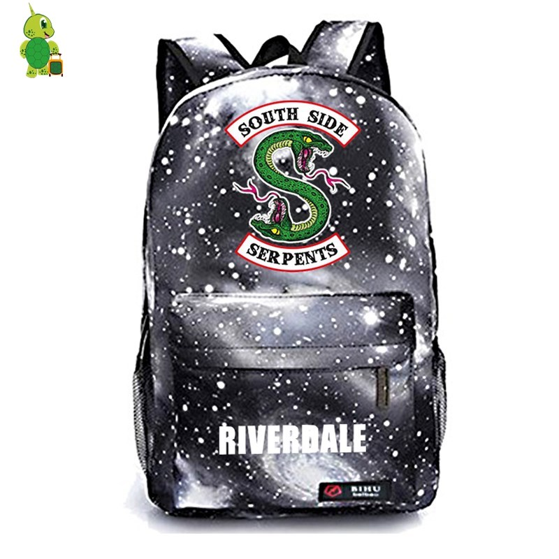 Riverdale South Side Galaxy Backpack Children School Bags Women Men Casual  Travel Rucksack boys girls Book Bags Kids Gift-in Backpacks from Luggage &  Bags ...