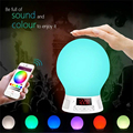 Bluetooth LED RGB E27 Smart Bulb Smartphone Control Patting Sensor for Color Changing Lamp for IOS & Android Built-in Battery