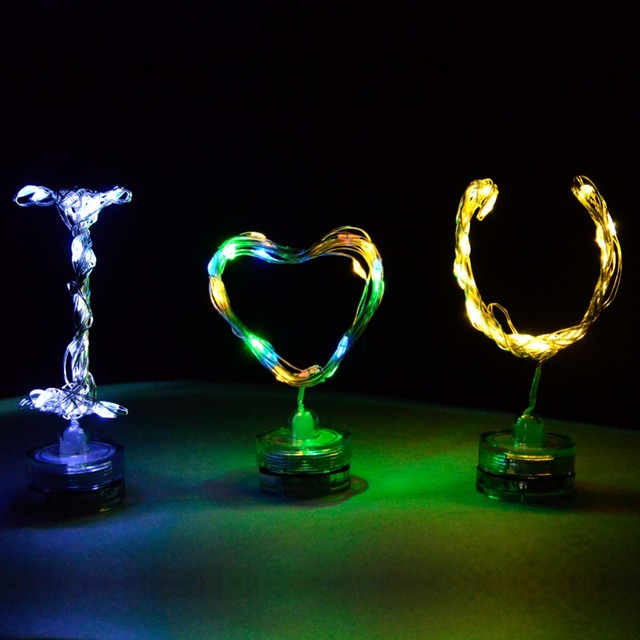Copper LED String with Stand
