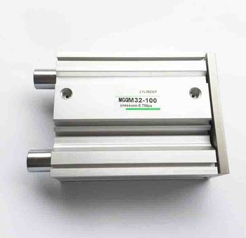 Размер отверстия 40 мм * 550 мм ход SMC тип MGQ серии скользящий подшипник цилиндр