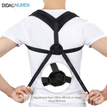 Adjustable Posture Corrector Under Clothes Design For Women And Men - Upper Back Brace Helps Support Correct