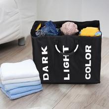 3-секционный складной мешок для стирки для белья, корзина для хранения вещей прочной рубашечной ткани корзина для белья одежда аппарат для сортировки и многофункциональная сумка для хранения
