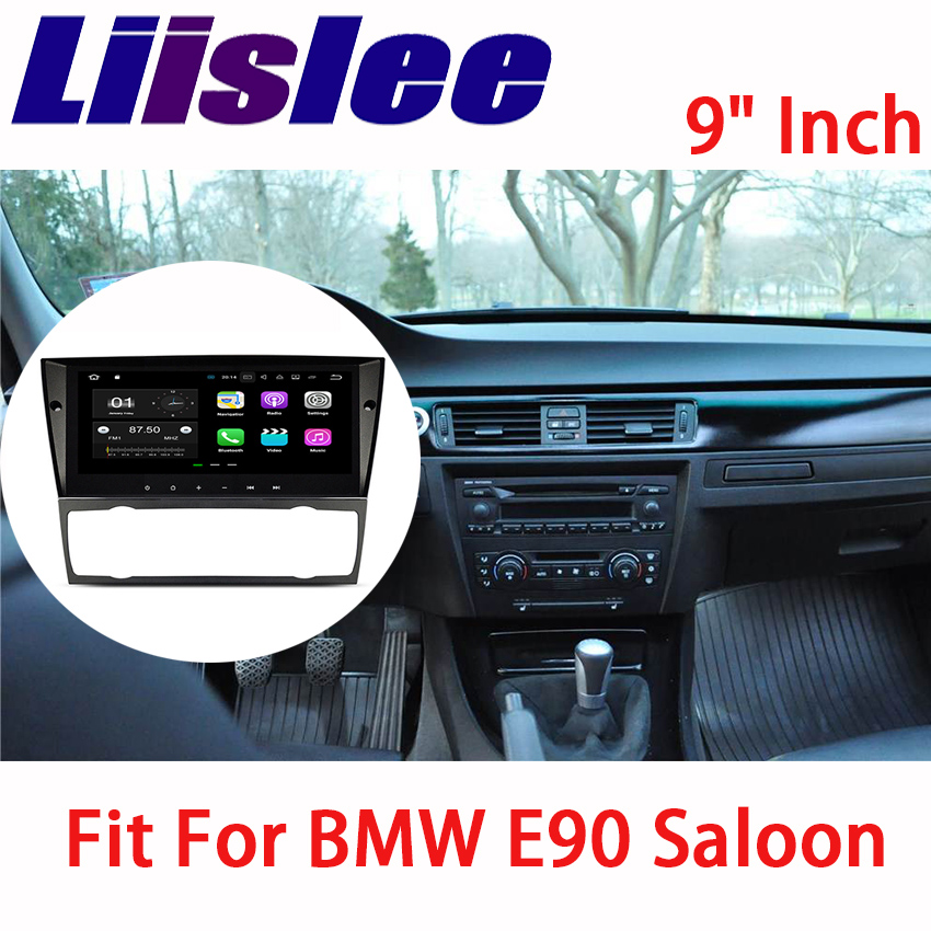 Liislee Android Car Navigation GPS For BMW E90 Saloon 2005~2012 Audio Video HD Touch Screen Stereo Multimedia Player No CD DVD yessun car navigation gps android for jeep renegade 2016 2017 audio video hd touch screen stereo multimedia player no cd dvd
