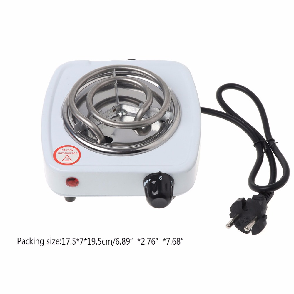 500W Electric Stove Hot Plate Burner Travel Cooking Appliances Portable Warmer EU Plug 220V