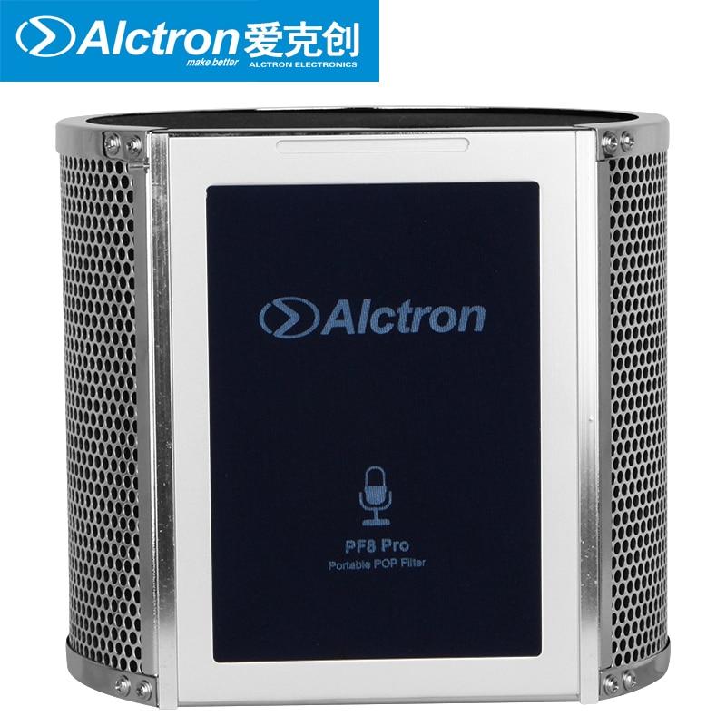 Alctron PF8PRO Professional Simple Studio Mic Screen Acoustic Filter New Arrive Desktop Recording Wind Screen