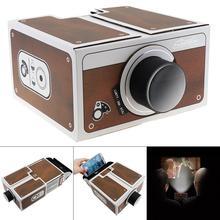 DIY 3D накладные проекторы карты доска мини смартфон проектор светильник Новинка Регулируемый мобильный телефон проектор кино в коробке