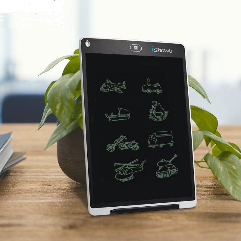 12 ''LCD Coloré ultra-mince Conseil D'écriture Mémo Babillard Portable Électronique Dessin Tablette Numérique Graphique dessin pad
