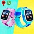 Дети Позиционирования GPS Сенсорный Экран Часы-Телефон для Детей