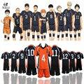 Haikyuu Хината Shyouyou Косплей Костюм Karasuno средней Школы Волейбольный Клуб Спортивной Трикотажные Униформа