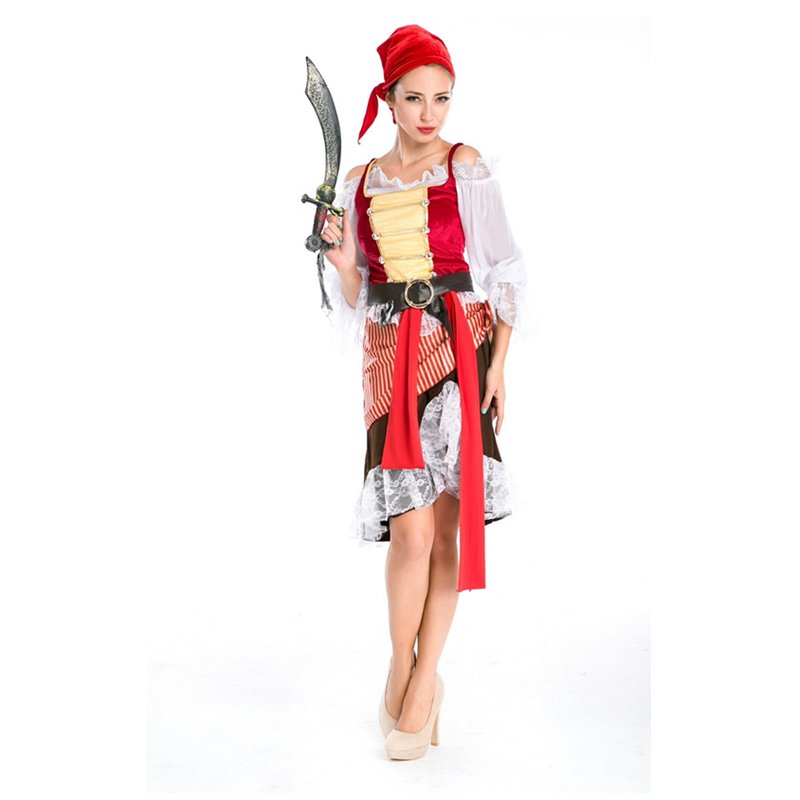 Costume de Minion adulte M4850 Sexy pirate femmes Costumes grand rabais carnaval Costume