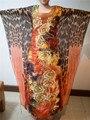 (Envío gratis) Cuatro Estilos Súper Grandes Mangas Mujeres coloridas Bazin Africano tradicional materia De Algodón Más Tamaño S2341