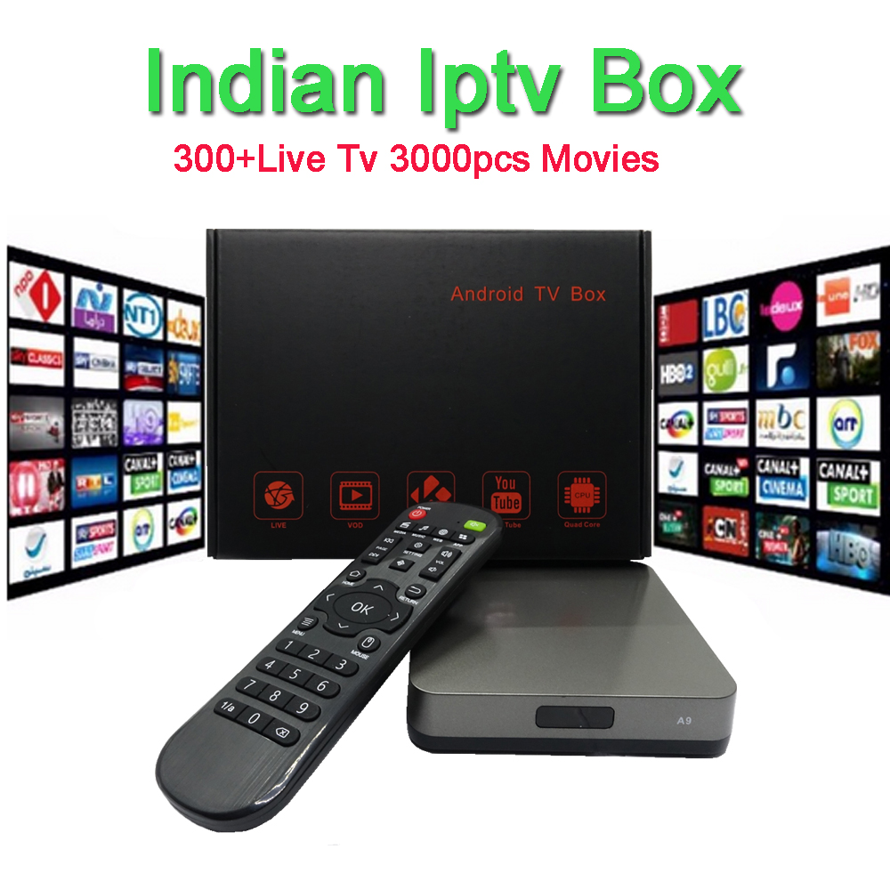 US $146 2 32% OFF|No monthly fee Azsuper Indian IPTV BOX support  Indian/Bangla/pakistan Live TV Channels indian iptv Android smart Set Top  box-in