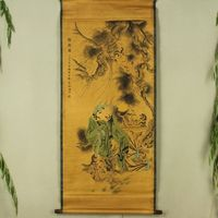 Antique Collection Boutique Calligraphy And Painting The Monkey Play Diagram