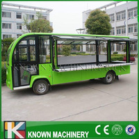 Mobile food carts/trailer/ ice cream truck/snack food carts customized for sale with free shipping