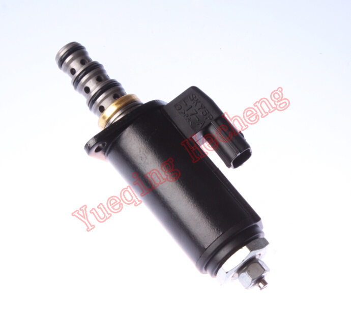 Solenoid Valve YN35V00041F1 SK200-8 Main Pump Fit for Excavator Parts