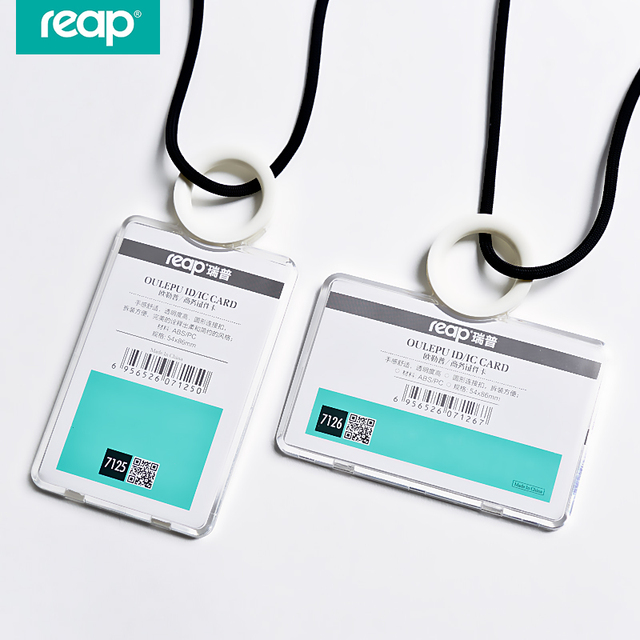 reap 7125 id card holder badges passport ic work permit card name