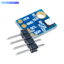 Industrial Humidity Sensor High Precision Si7021 Temperature Humidity Sensor Module with I2C Interface for Arduino