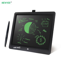 NEWYES 15 Portable Ultra Thin Writing Tablet Gifts for Kids Office LCD Writing Handwriting Pads Tablet Drawing Toys Lock key
