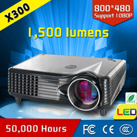 China Made Best Selling Hind Song Hd Download 1500 Lumens Home Theater Mini Projector CRE X300