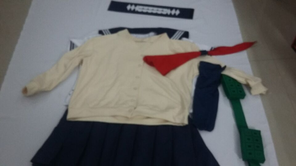 My Hero Academia League of Villains Himiko Toga Cosplay Costume