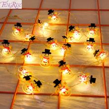 Get more info on the Snowman Christmas Tree LED Garland String Lights Christmas Decoration For Home 2019 Christmas Ornaments Navidad Natal New Year