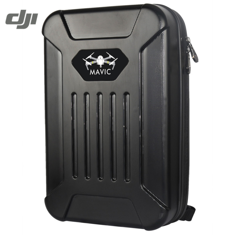 DJI MAVIC Pro RC Quadcopter FPV Black Grey Waterproof Carrying Suitcase ABS Shoulder Bag Backpack Handbag Case Box yuneec q500 typhoon quadcopter handheld cgo steadygrip gimbal black