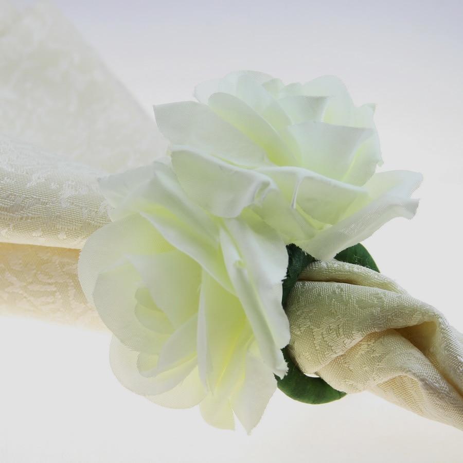 Free shipping handmade double silk flower napkin ring napkin holder free shipping handmade double silk flower napkin ring napkin holder bulk price 12 pcs mightylinksfo