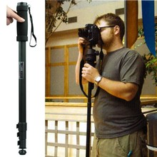 Hot selling WT1003 WT 1003 Professional Alloy Camera font b tripod b font Monopod Lightweight 67